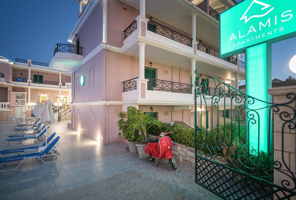 alamis apartments tsilivi zante greece